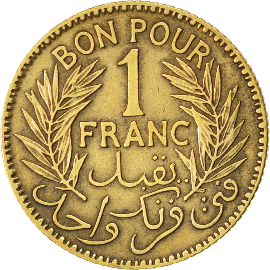83704 tunisie bon pour 1 franc 1921 km 247 ttb 1 for Bon pour 1 franc chambre de commerce