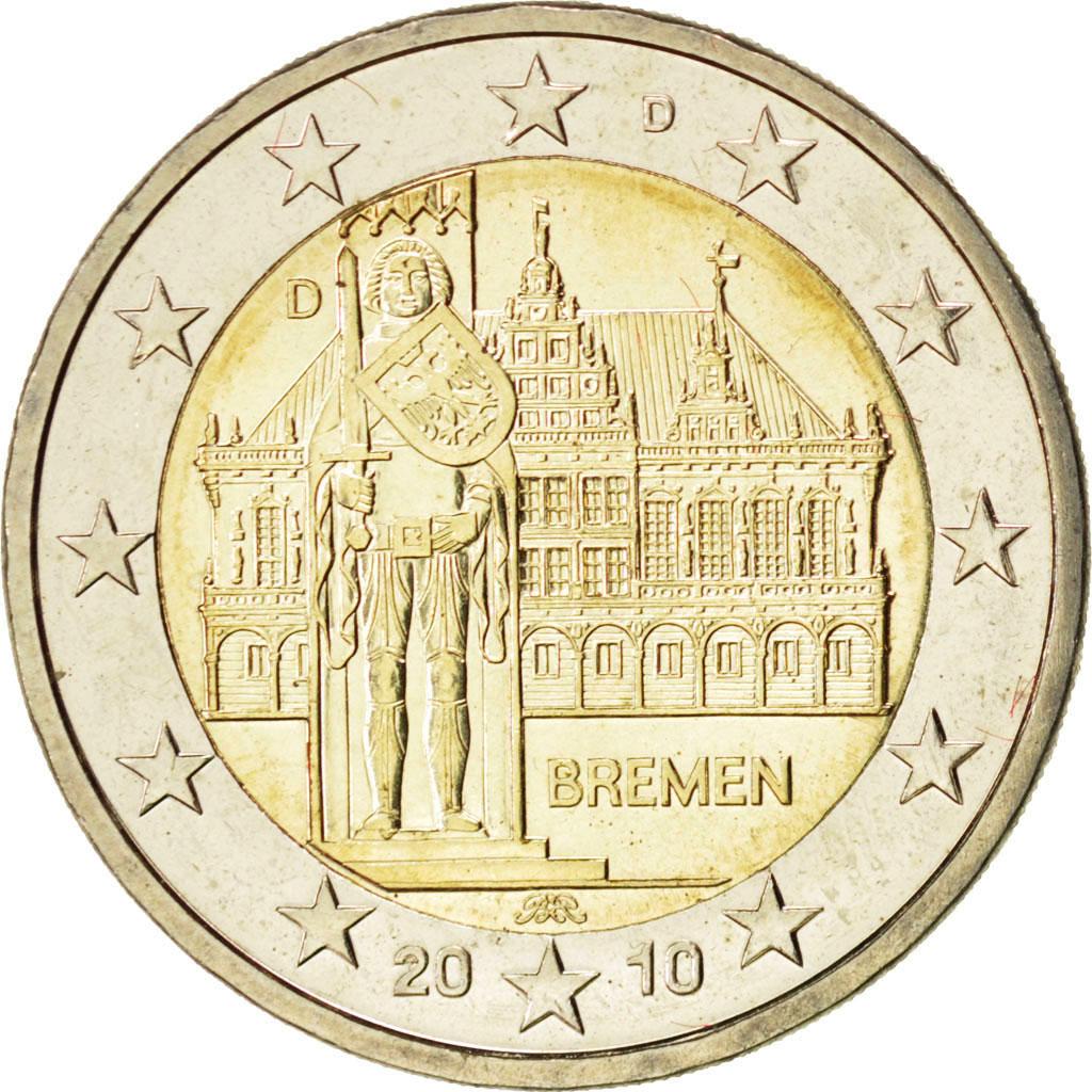 84998 allemagne 2 euro bremen 2010 spl 2 euros de 5 15 euros 2010 comptoir des. Black Bedroom Furniture Sets. Home Design Ideas