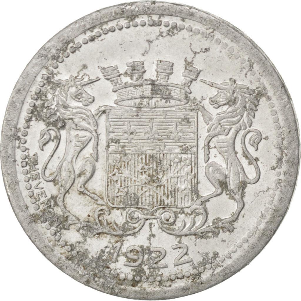 85285 amiens chambre de commerce 5 centimes 1922 elie for Chambre de commerce amiens