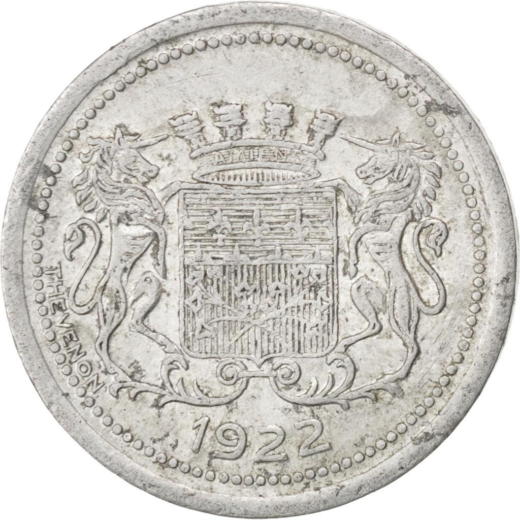 85287 amiens chambre de commerce 5 centimes 1922 elie for Chambre de commerce amiens