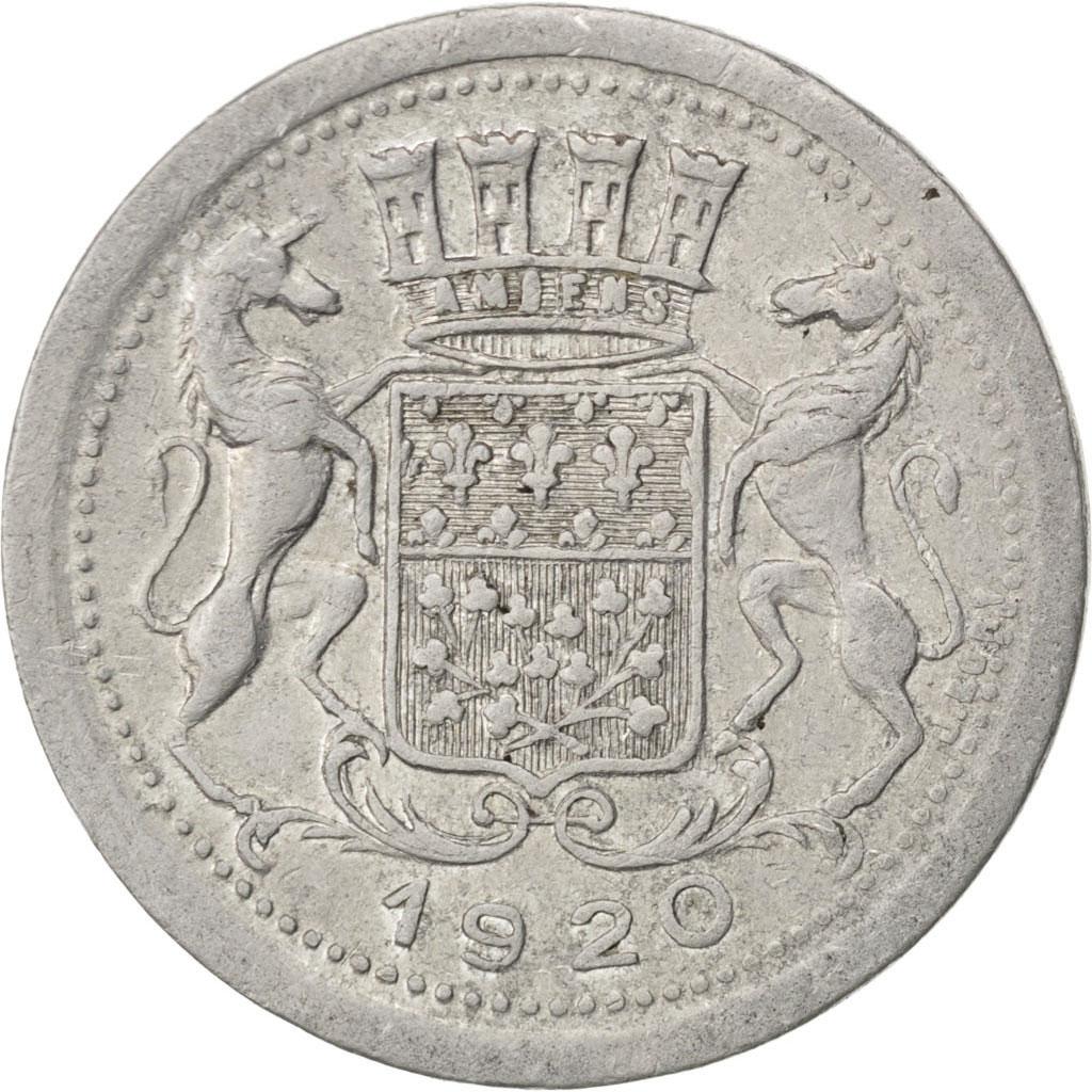 85289 amiens chambre de commerce 10 centimes 1920 elie for Chambre de commerce amiens