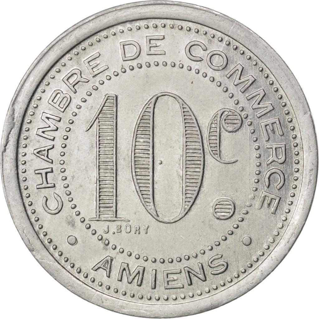 85290 amiens chambre de commerce 10 centimes 1920 elie for Chambre de commerce amiens