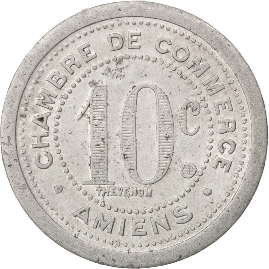 85292 amiens chambre de commerce 10 centimes 1921 elie for Chambre de commerce amiens