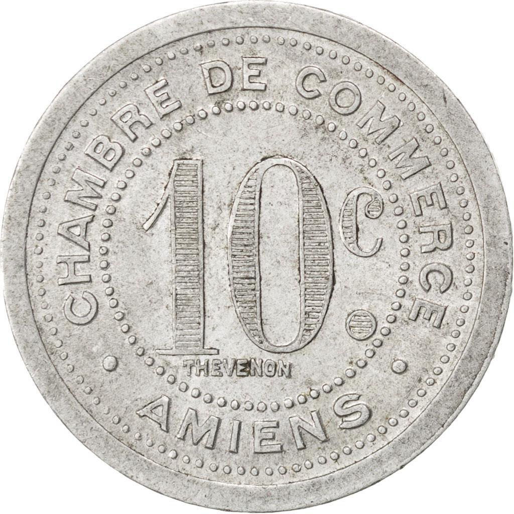 85296 amiens chambre de commerce 10 centimes 1922 elie