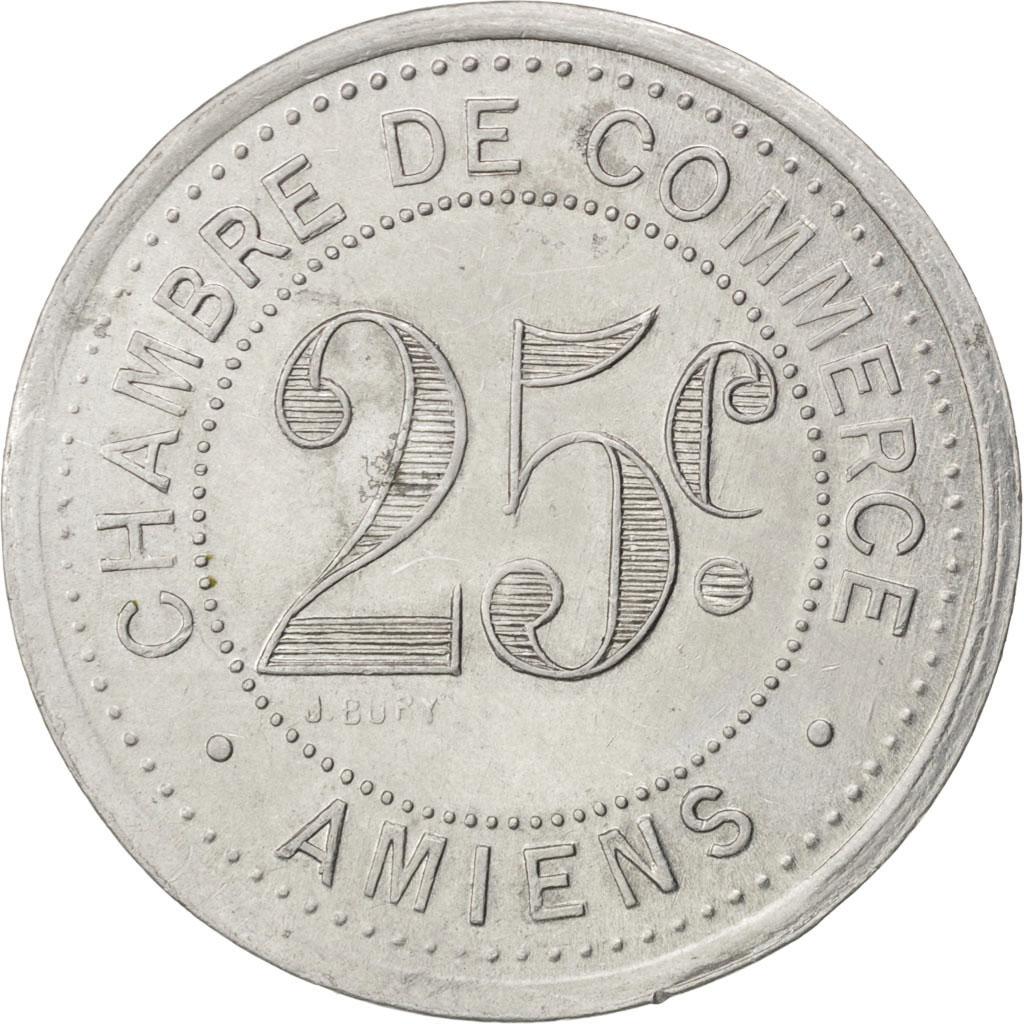 85297 amiens chambre de commerce 25 centimes 1920 elie for Chambre commerce
