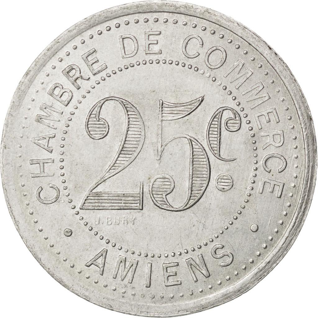 85299 amiens chambre de commerce 25 centimes 1920 elie