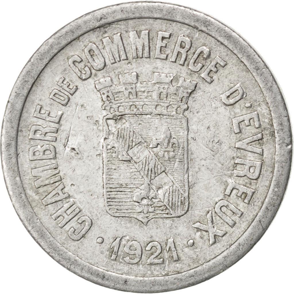 85561 evreux chambre de commerce 10 centimes 1921 elie for Chambre de commerce evreux