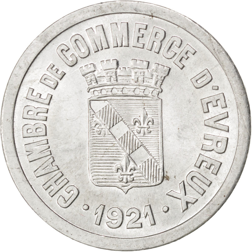 85566 evreux chambre de commerce 25 centimes 1921 elie for Chambre de commerce evreux