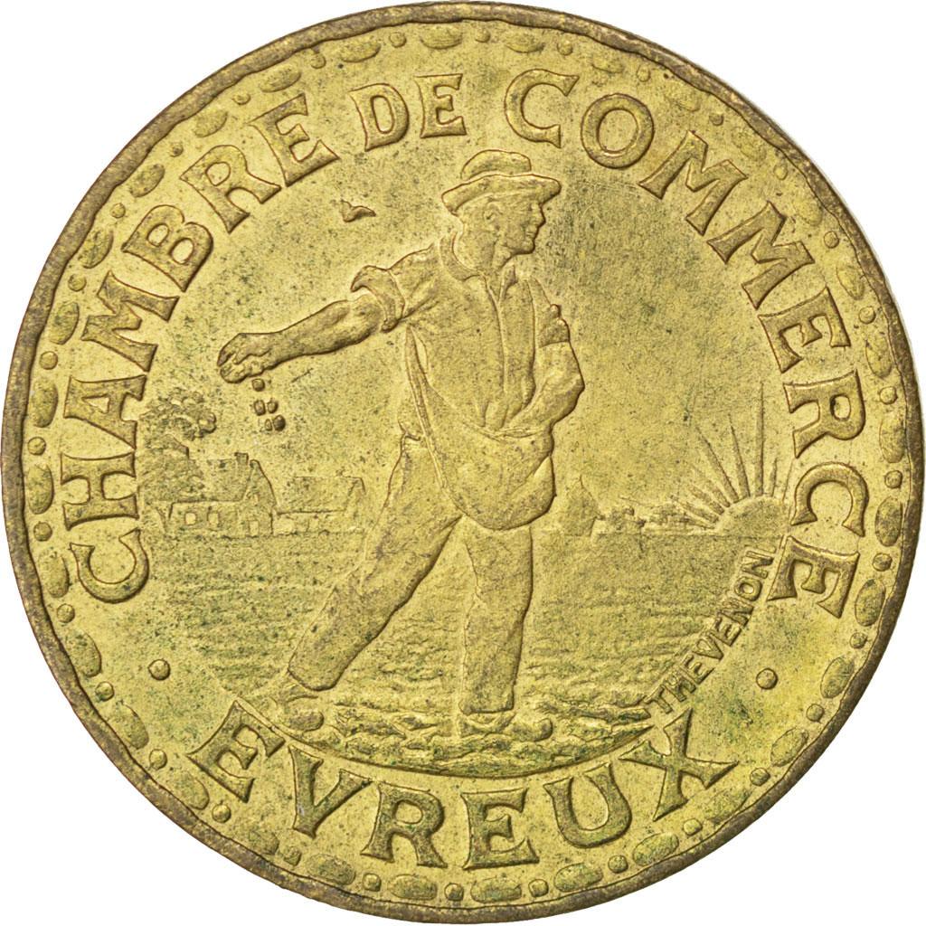 85570 evreux chambre de commerce 2 francs 1922 elie 10 for Chambre de commerce evreux