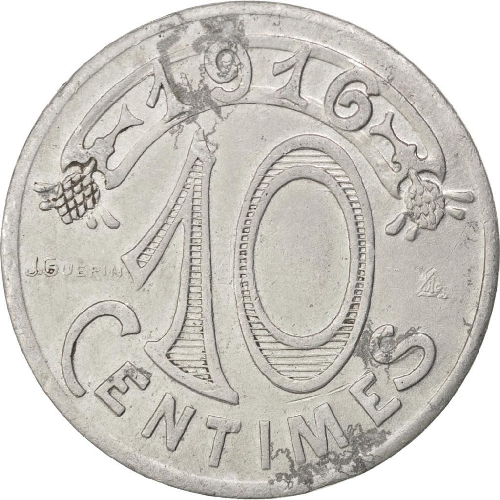 85729 marseille chambre de commerce 10 centimes 1916 for Chambre de commerce marseille provence