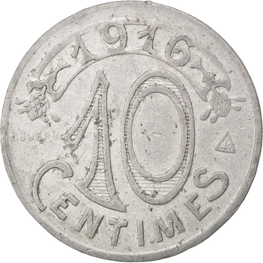 85730 marseille chambre de commerce 10 centimes 1916 for Chambre de commerce marseille provence