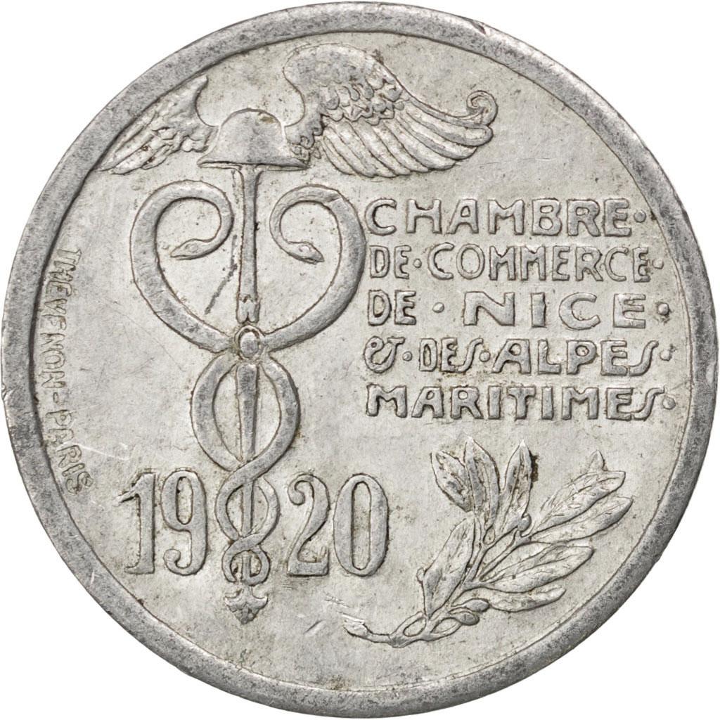 85789 nice chambre de commerce 10 centimes 1920 elie - Chambre de commerce italienne de nice ...
