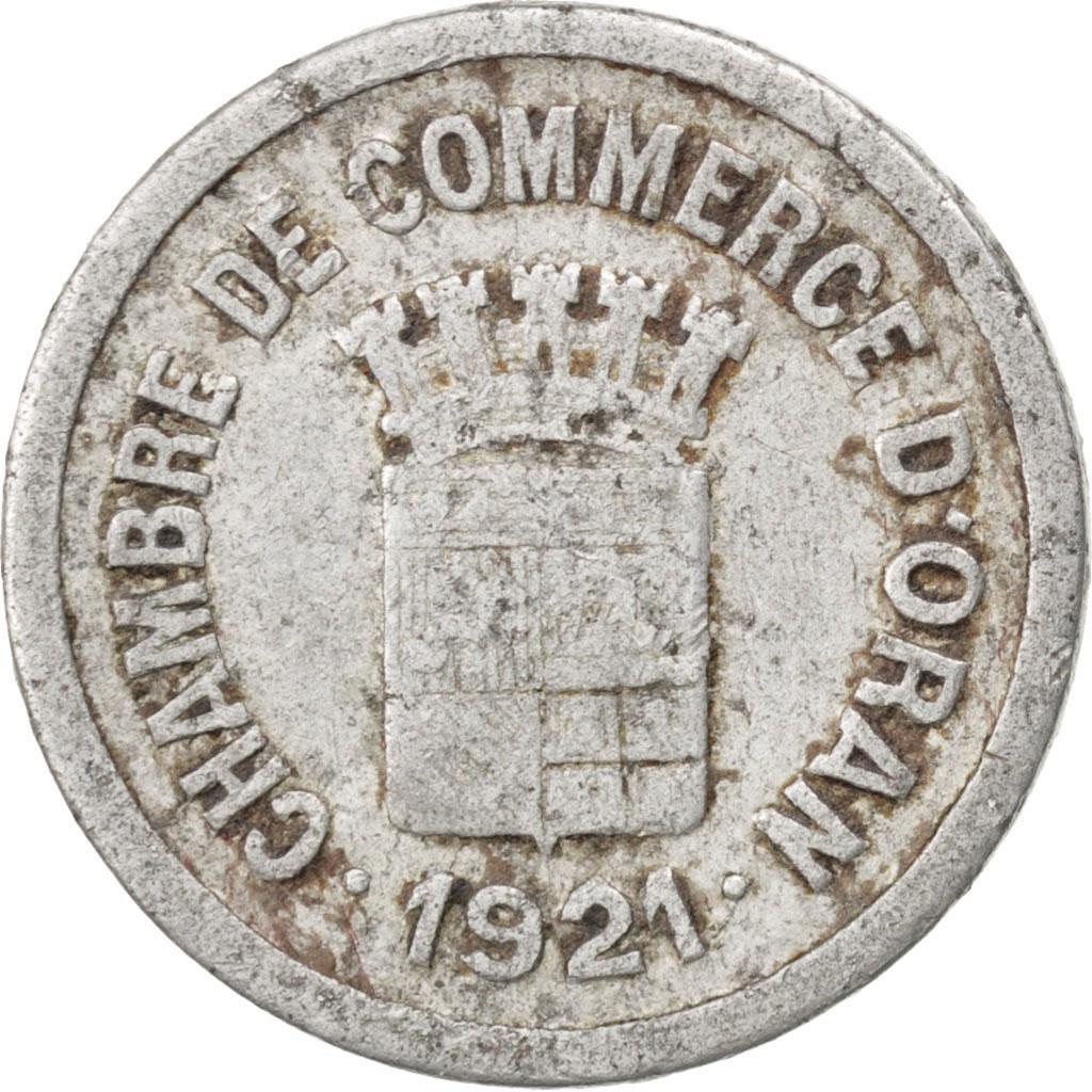 86205 alg rie oran chambre de commerce 5 centimes 1921 for Chambre de commerce algerie