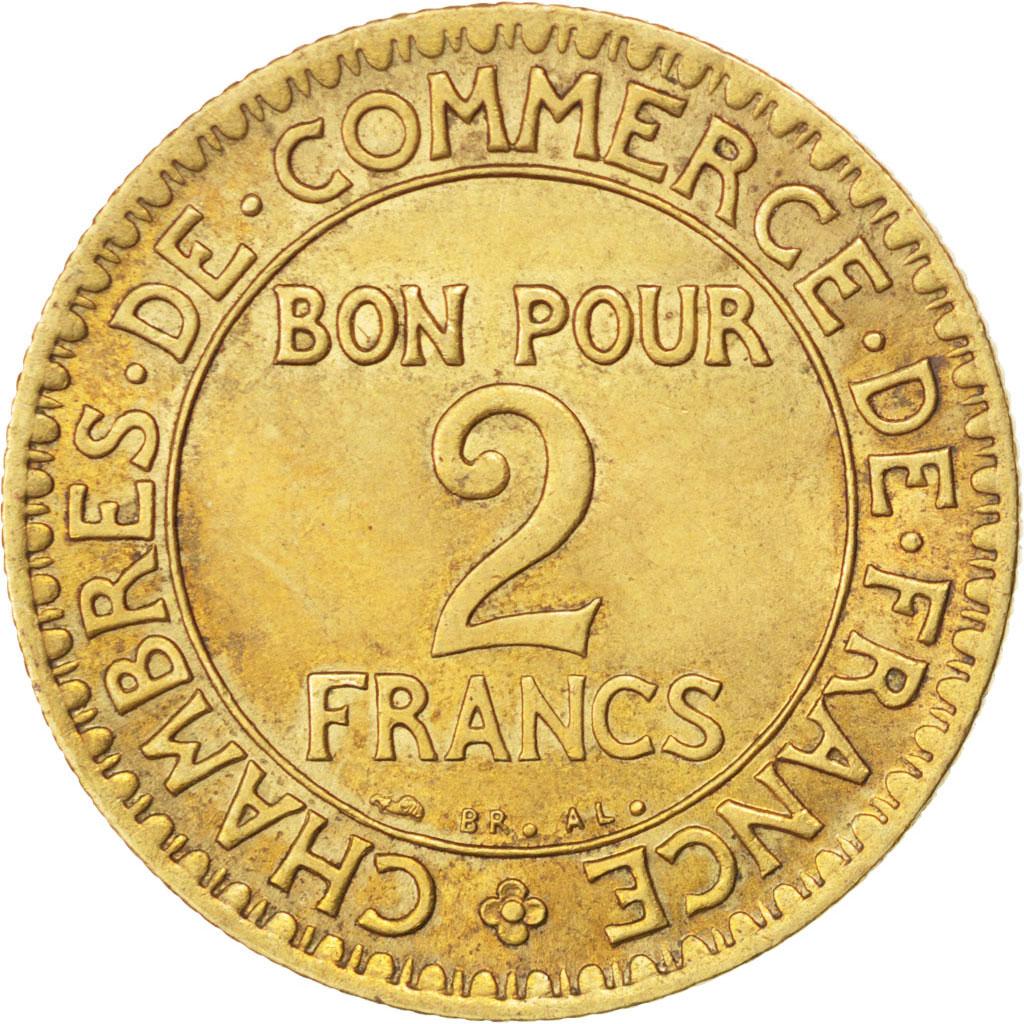 86396 iii me r publique 2 francs chambre de commerce for Bon pour 2 francs 1925 chambre commerce