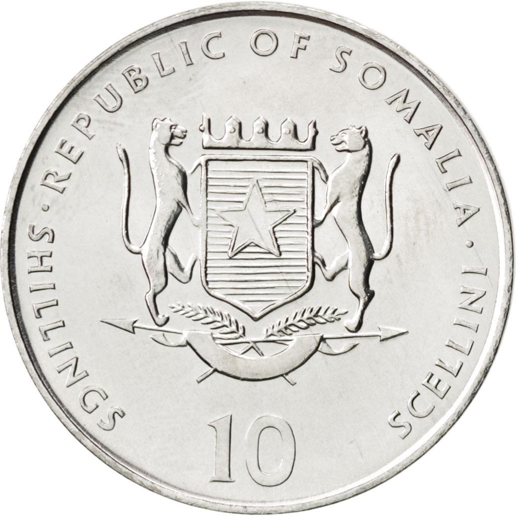 #89346 Somalie, 10 Shi...