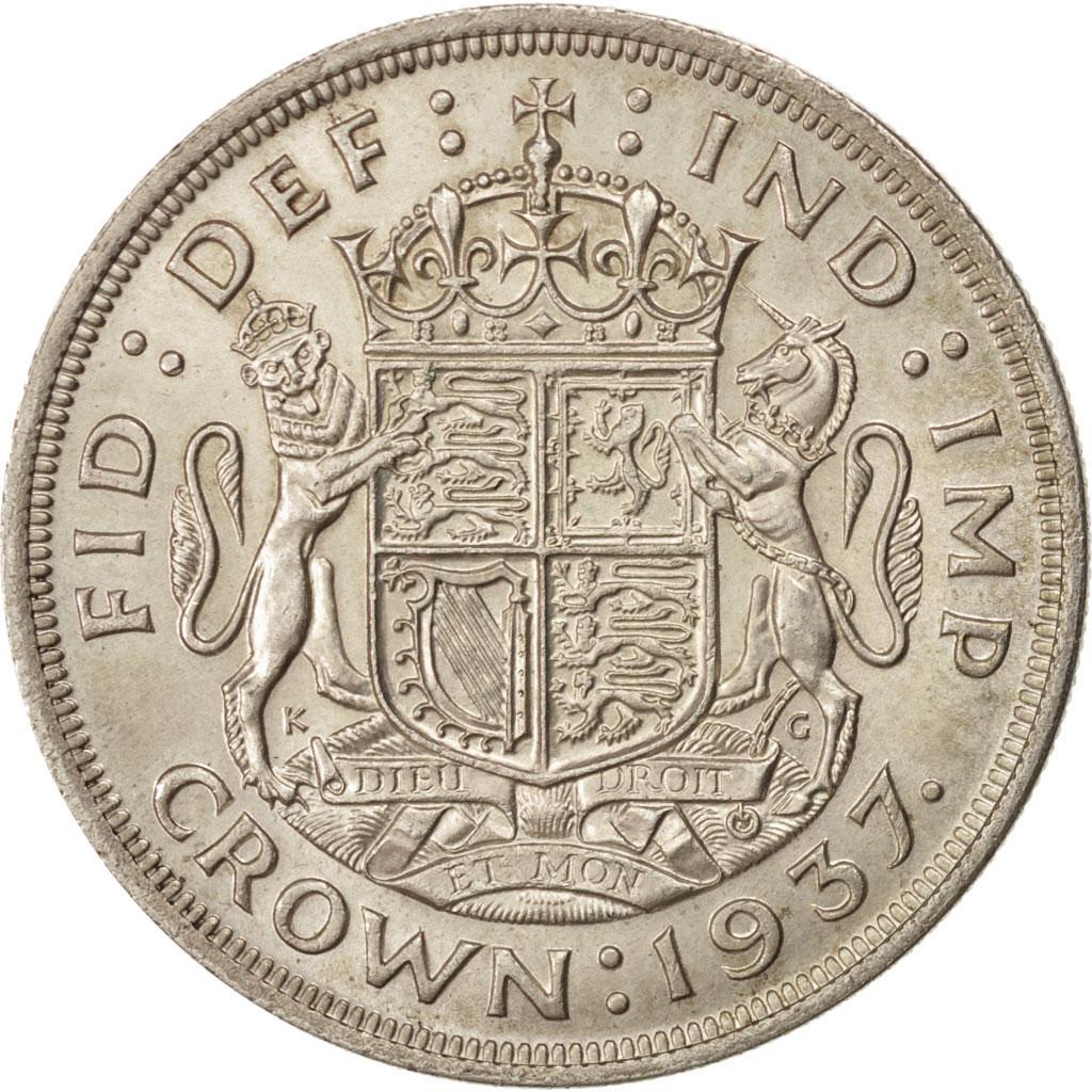 91716 grande bretagne georges vi 1 crown 1937 km 857 sup 1 crown de 16 50 euros - Chambre de commerce francaise de grande bretagne ...