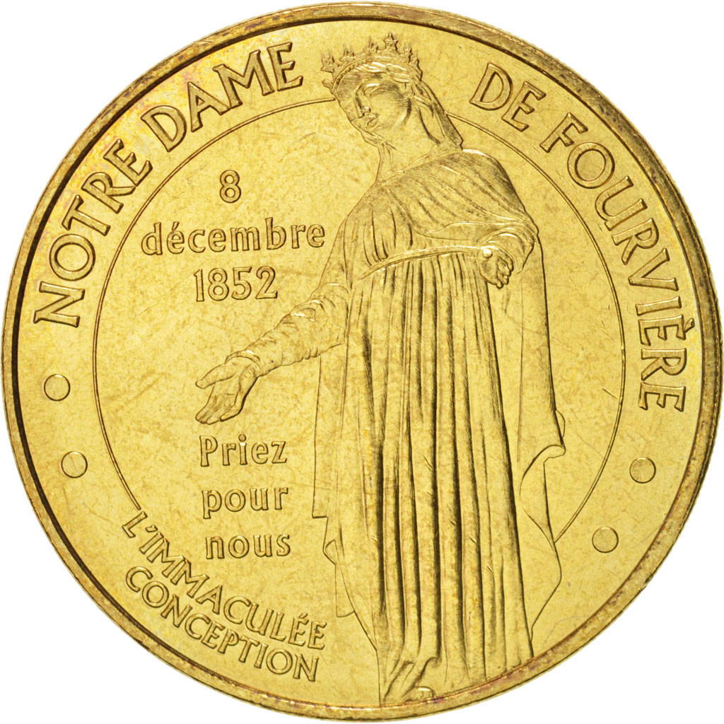 monnaie de paris notre dame de fourviere