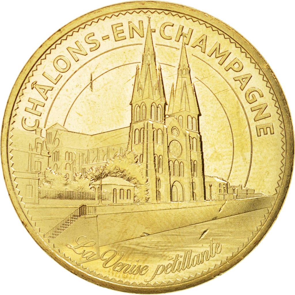 94593 france tourist token 51 ch lons en champagne 2015 monnaie de paris spl monnaie de. Black Bedroom Furniture Sets. Home Design Ideas