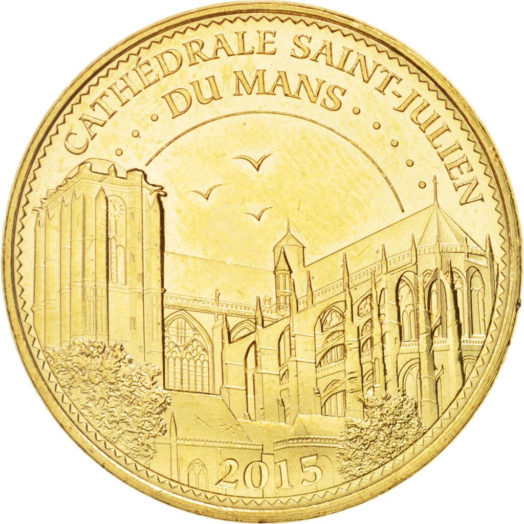 94773 france tourist token 72 cath drale saint julien du mans 2015 mdp spl monnaie de. Black Bedroom Furniture Sets. Home Design Ideas