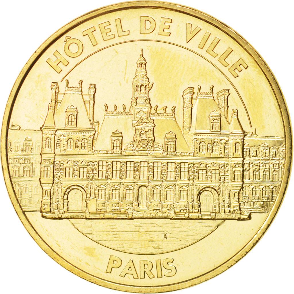 94798 France Tourist Token 75 Paris H Tel De Ville