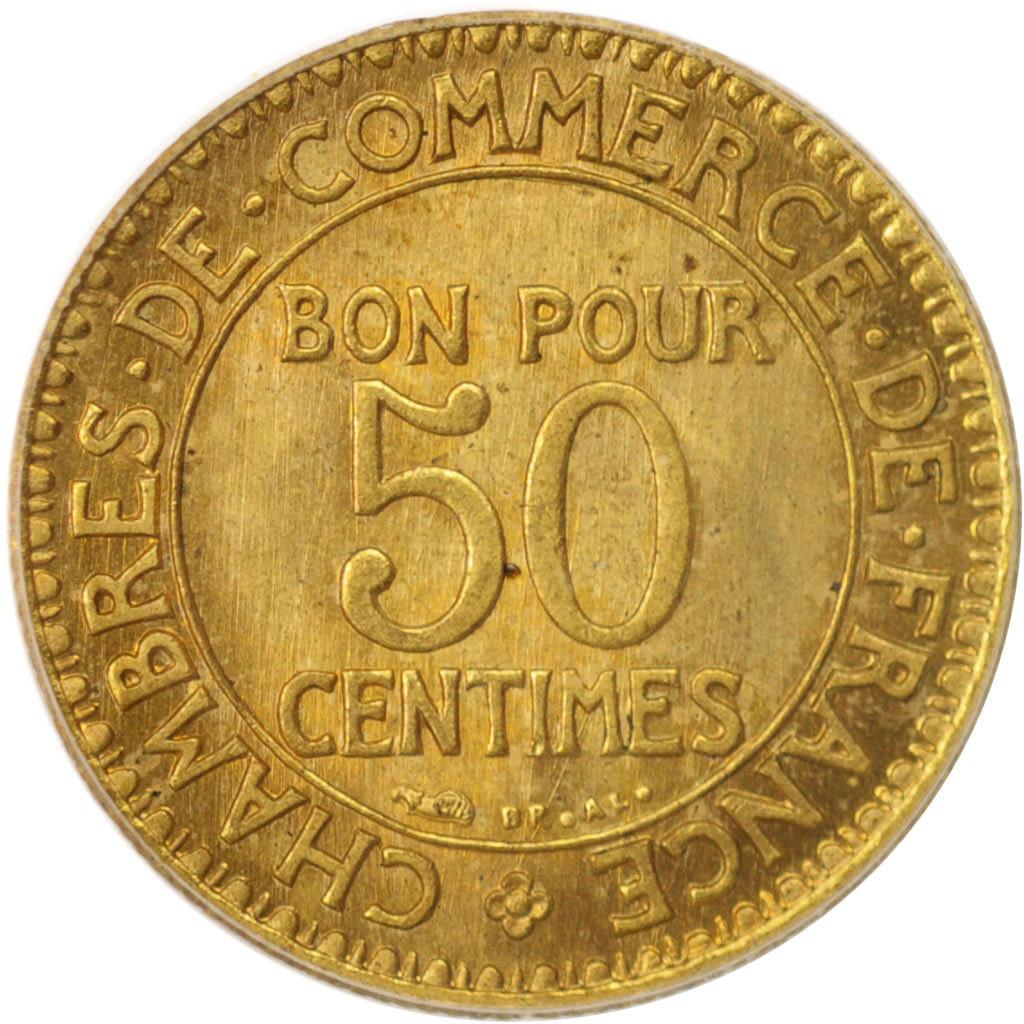 96434 france chambre de commerce 50 centimes 1921 - Chambre de commerce internationale paris ...