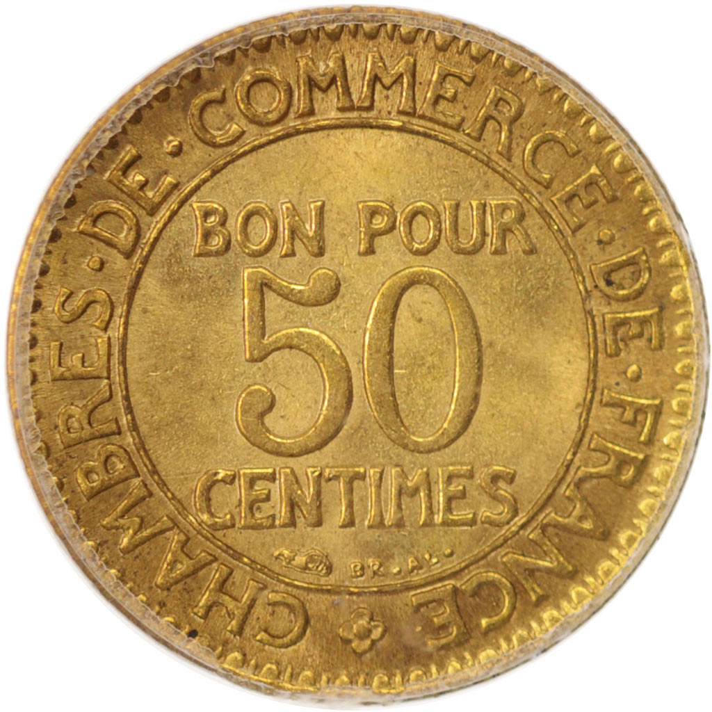 96441 france chambre de commerce 50 centimes 1926 for Chambre de commerce de france