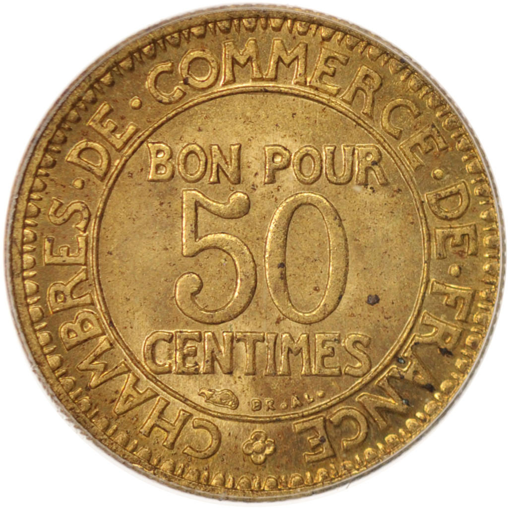 96447 france chambre de commerce 50 centimes 1928 for Chambre commerce france