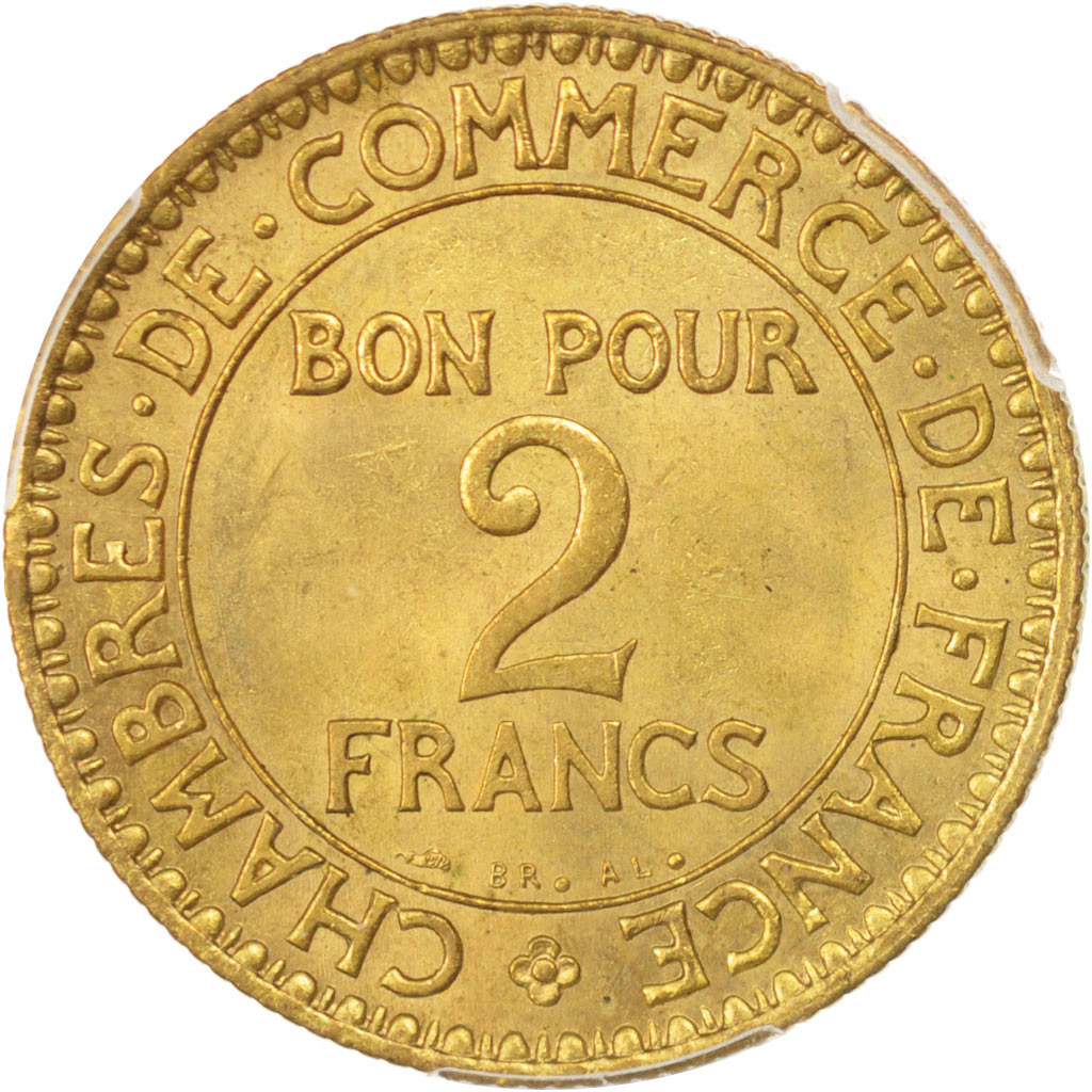 96490 france chambre de commerce 2 francs 1921 paris - Chambre de commerce francaise a l etranger ...