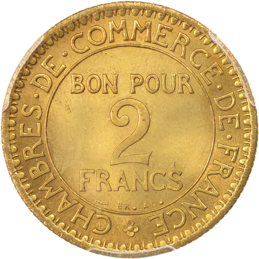 96491 france chambre de commerce 2 francs 1921 paris for Chambre de commerce de france