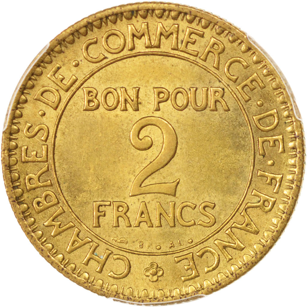 96494 france chambre de commerce 2 francs 1923 paris for Chambre de commerce de france bon pour 2 francs 1923