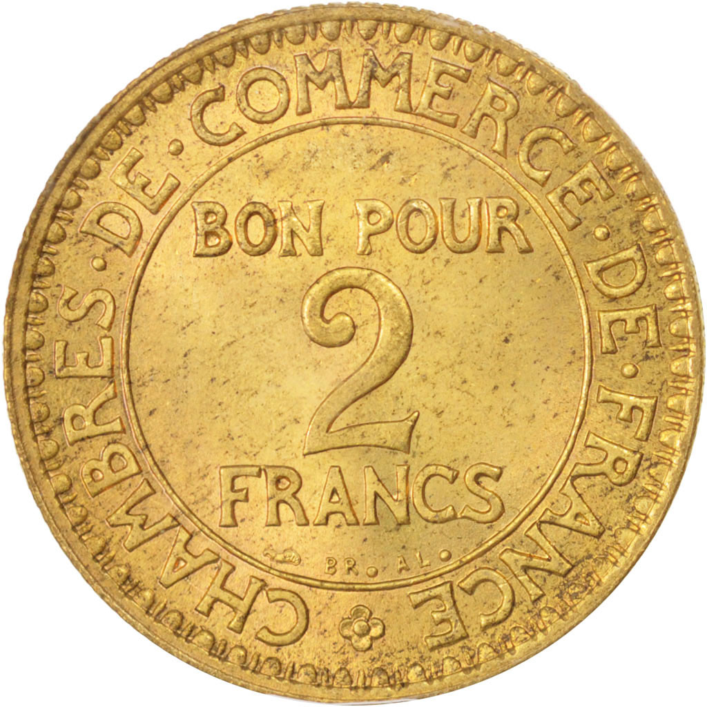 96495 france chambre de commerce 2 francs 1925 paris - Chambre de commerce francaise a l etranger ...