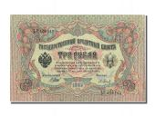Russie, 3 Roubles type 1905-12