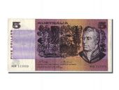 Australie, 5 Dollars type Joseph Banks