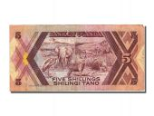 Ouganda, 5 Shillings type 1987