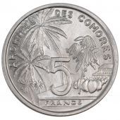 Comoros, Republic, 5 Francs Essai