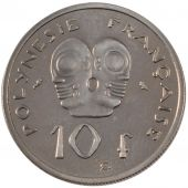 French Polynesia, Republic, 10 Francs Essai