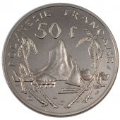 French Polynesia, Republic, 50 Francs Essai