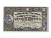 Switzerland, 5 Francs type 1913-53