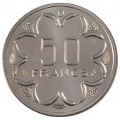 States of West Africa, Republic of Gabon, 50 Francs Essai