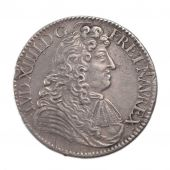 Louis XIV, ½ Ecu à la Cravate