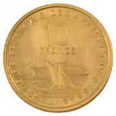 Afar and Issa, Republic, 10 Francs Essai