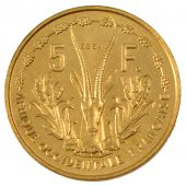 Occidental Africa, Republic, 5 Francs Essai