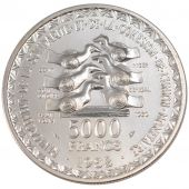 West Africa, republic, 5000 Francs Essai