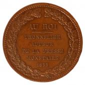 Louis-Philippe, Press Test Currency, Au Roi Thonnelier