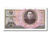 North Korea, 100 Won type Kim II Sung