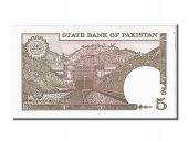 Pakistan, 5 Rupees type 1976-77