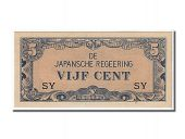 Indes Néerlandaises, 5 Cents type Japanese Government