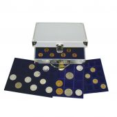 Carrying Case, 6 trays for 214 coins, Safe:176