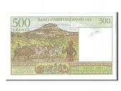 Madagascar, 500 Francs type 1994-95