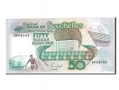 Seychelles, 50 Rupees type 1989